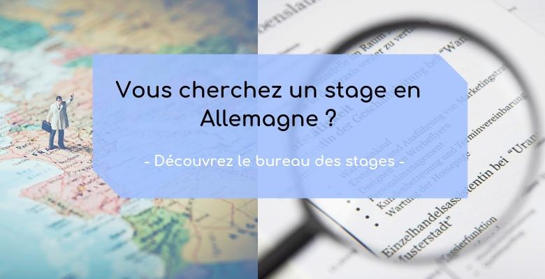 Bureau En Allemand : Le bureau des stages franco allemand u ccfa nantes u centre